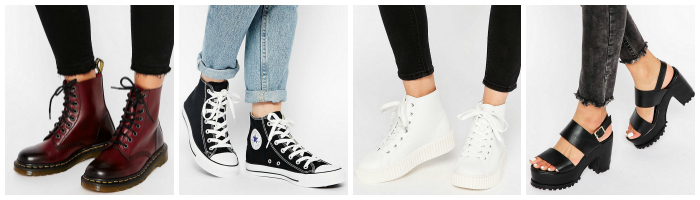 Grunge Shoes Dr Martens Converse Creepers Chunky Sandals