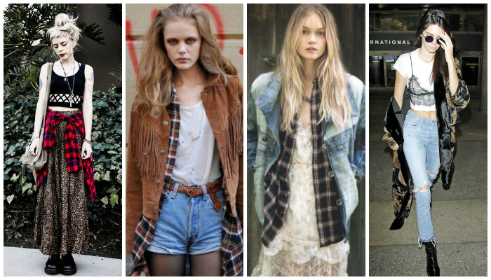 Grunge Style Outfit Inspiration Layering