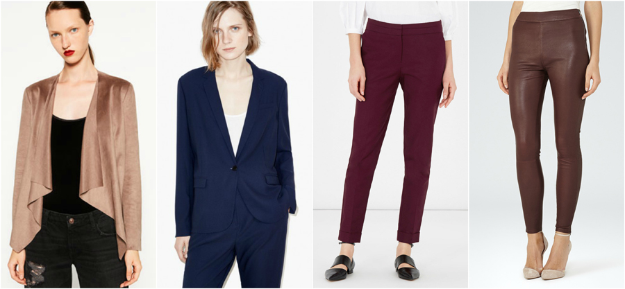 House Party Wear Autumn Winter Leather Trousers Suede Blazer Jackt Fashion