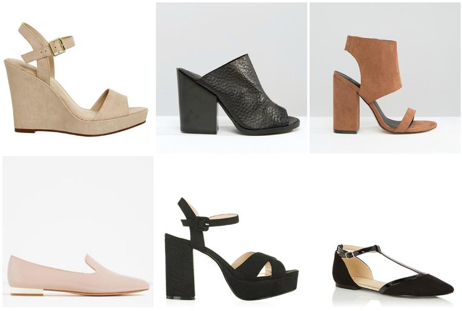 House Party Wear Fashion Shoes Heels Platforms Wedges Flats Ballet Pumps