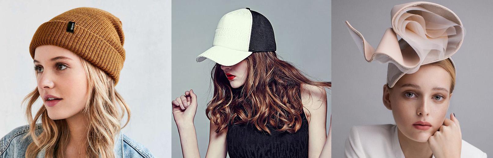 outfit grid womens hats beanie baseball cap fascinator
