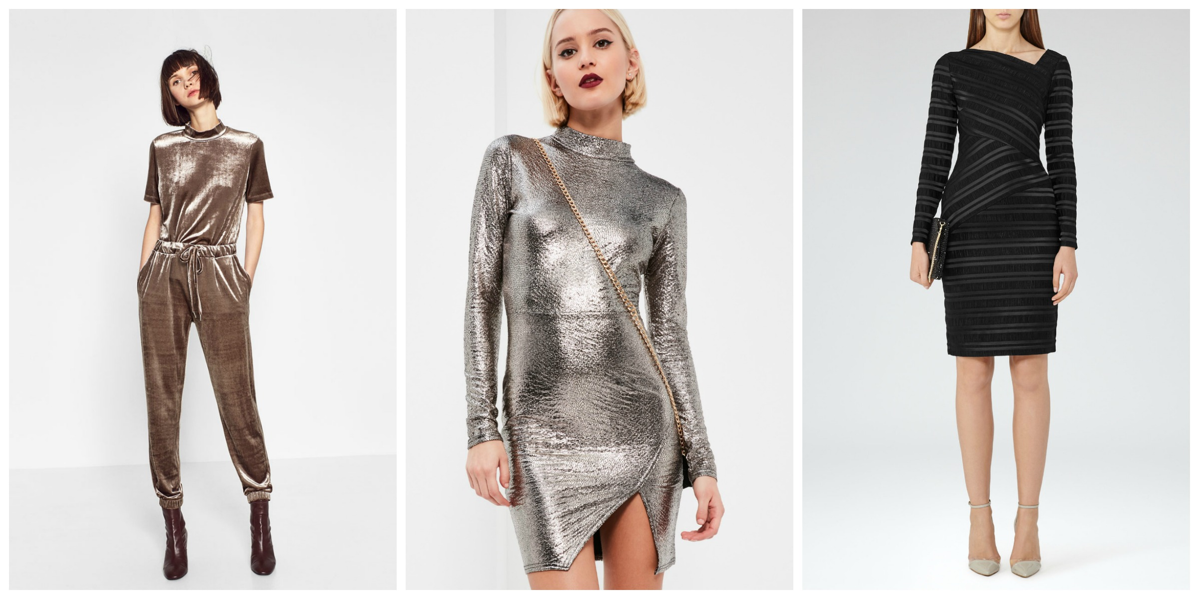 velvet-metallic-striped-outfits New Year's Eve