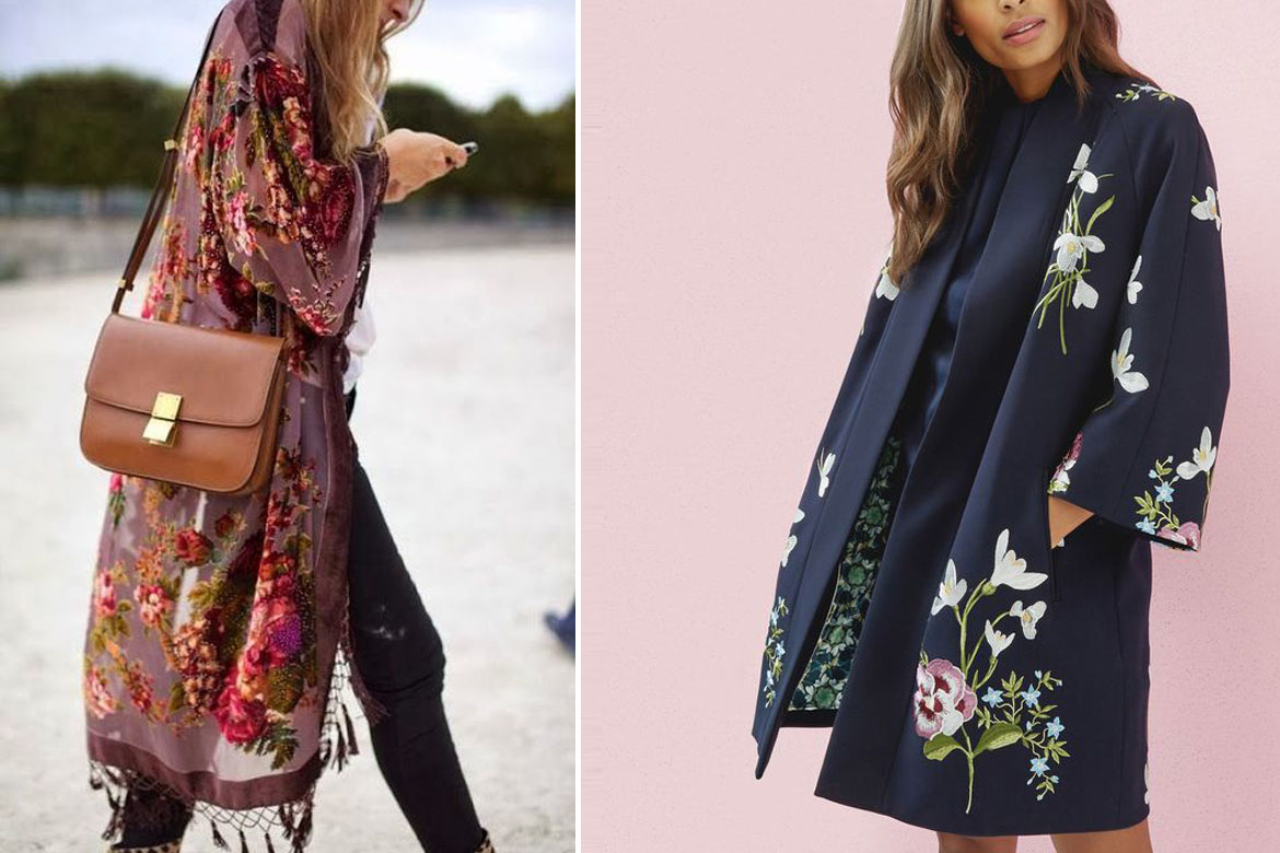 Kimonos With Fringe